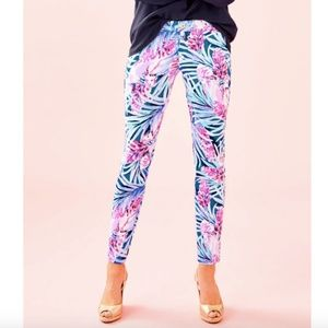 Lilly Pulitzer Kelly Knit Skinny Ankle Pant Size 8